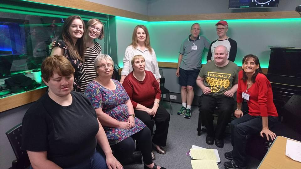 In the studio at BBC Belfast 2017